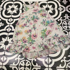 Gap tropical floral print dress